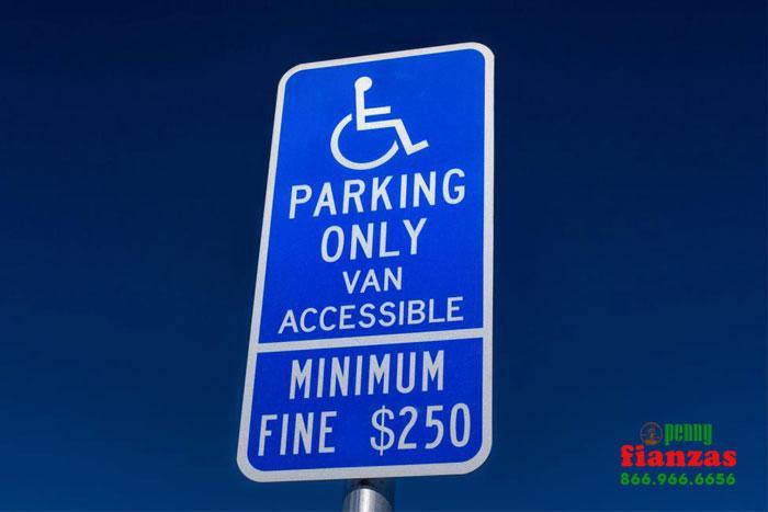 leyes sobre estacionamiento de descapcidad