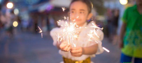 celebrando el cuatro de julio-sanamente