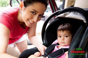 leyes sobre asientos de bebes