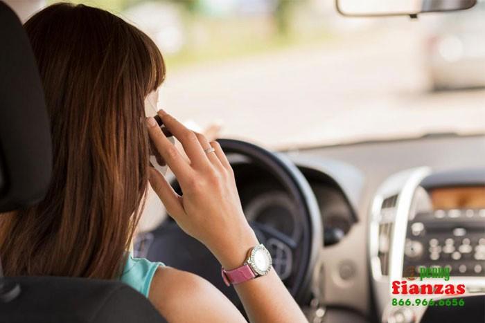 distracted driving van nuys bail bonds