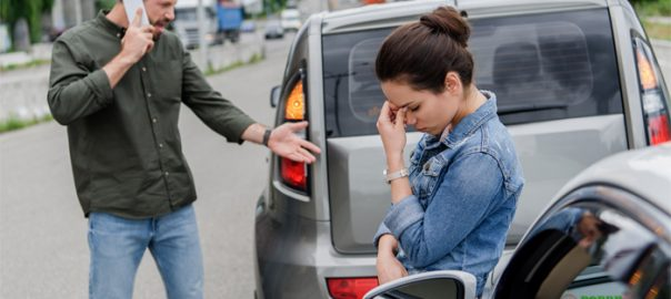 reporting car accidents california